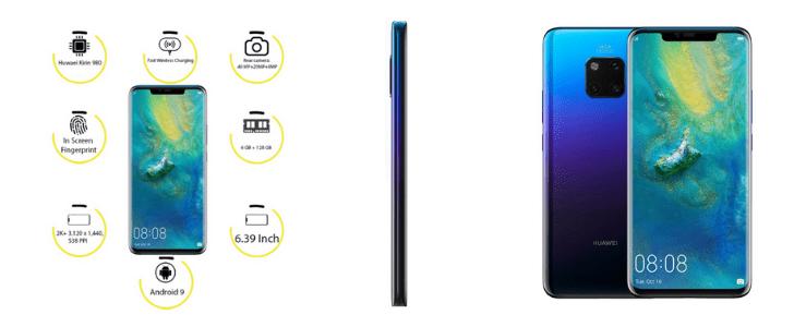 عروض نون جوالات هواوي Huawei mate 20 Pro